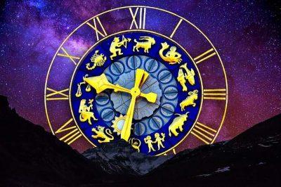 Cielo stellato orologio zodiaco